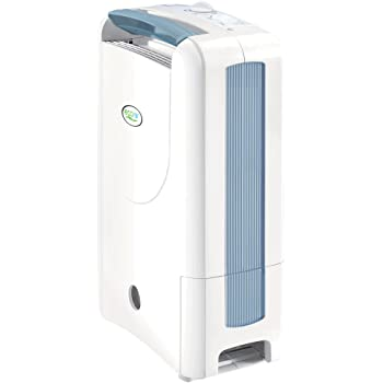 Desiccant Dehumidifier ECO DD122FW Simple with Ioniser & Silver Filter - 7L / Day, Damp Remover