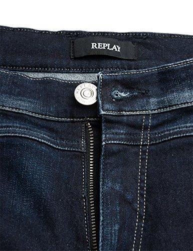 Replay Denice, Jeans Femme Bleu - Blau (Blue Denim 9)