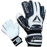 """Torwarthandschuhe """"POWER BLOCK"""" V01 Fingersave Torwart Handschuhe von ATTONO® (3-11)"""