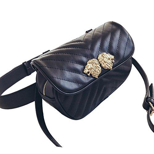 Coafit Mode UmhäNgetasche Damen GüRteltasche Verstellbarer Riemen
