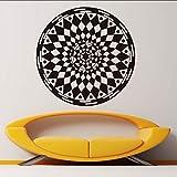 Makeyong Mandalas Fleur Stickers Muraux Yoga Motif Art Design Pvc...