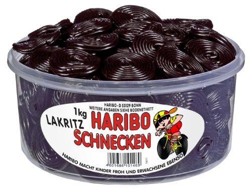 Haribo Lakritz-Schnecken 1506914 1kg