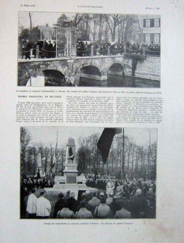 Anvers Cemetry Schoonselhof 1930, 6 Aroplanes Toussus