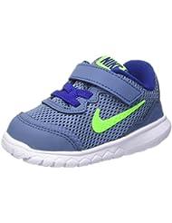 Nike Flex Experience 4 (Tdv), Zapatos de Primeros Pasos Para Bebés, Azul (Azul (Ocn Fg / Elctrc Grn-White-Dp Ryl)), 23.5 EU