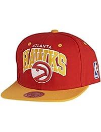 Mitchell & Ness NBA Atlanta Hawks Team Arch Snapback Cap NA80Z Kappe Basecap