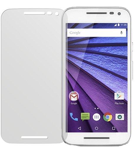 dipos I 2x Schutzfolie matt passend für Motorola Moto G (3. Generation) Folie Bildschirmschutzfolie