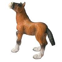 Bullyland Shire Horse Foal Figurine