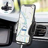 Supporto Auto Smartphone 360 Gradi di Rotazione IZUKU [Garanzia a Vita] Porta Cellulare Auto per telefoni iPhoneX/8/7/6, Samsung S9/8/7,Xiaomi,Huawei Honor e GPS Dispositivi di Larghezza 5,3cm-9,5cm