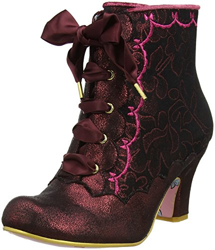 Irregular Choice Chinese Whispers, Stivali Donna Brown (Bronze)