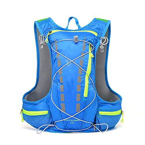 Dnxet Outdoor-Taschen für Damen und Herren, Fahrradrucksäcke, Marathonrucksäcke, Laufrucksäcke, Langlaufrucksäcke Kletterrucksack