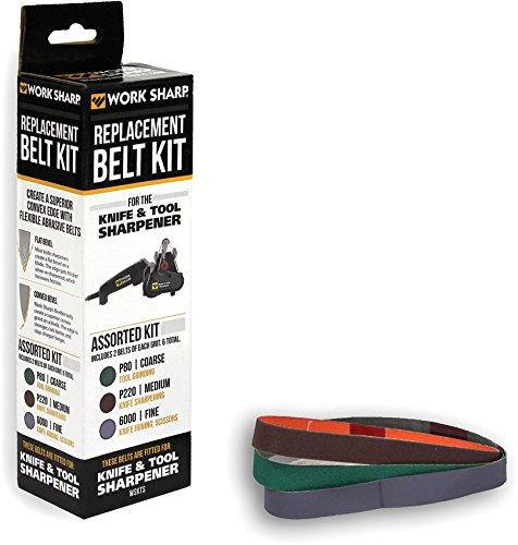 516mlVlcSZL - Work Sharp WS2012 Knife and Tool Sharpener Replacement Belt Kit