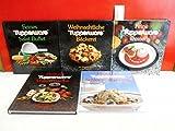 5 x Tupperware - Kochbuch : 1. Feine Desserts , 2. Delikate Vollwertküche , 3. Deutsche Schlemmergerichte , 4. Weihnachtliche Bäckerei , 5. Feines Salat-Buffet bei Amazon kaufen