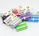 180bolsas higiénicas para perros, gatos–(6conf. de 2rotolini CAD.)–colores mezclados.