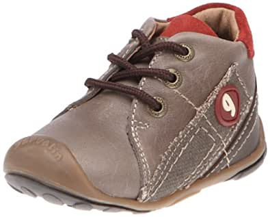 Garvalin Gilles, Chaussures basses bébé garçon - Marron (B-Espresso Y Marron), 21 EU