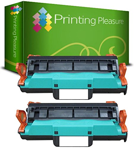 PRINTING PLEASURE 2er Set Q3964A Premium Trommel kompatibel für HP Colour Laserjet 2550, 2550n, 2550l, 2550ln, 2800, 2820, 2820aio, 2840, 2840aio, 2850, 2500, 2500l, 2500lse, 2500n, 1500, 1500L, 1500lxi, 1500n (Drum 2550n)