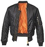 Brandit MA1 Jacke Schwarz XL
