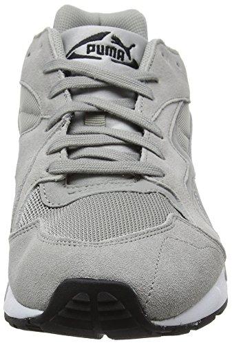 Puma Prevail, Sneakers Basses Mixte Adulte Gris (Drizzle-puma Black-puma White 02)