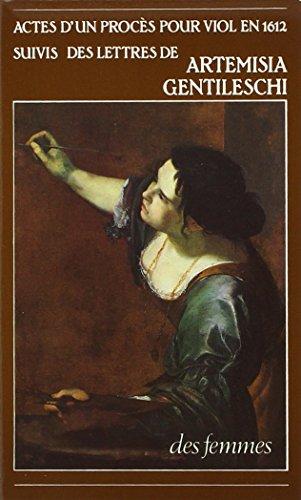 Actes d'un procès pour viol en 1612