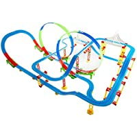 Radhey Preet® Tomas Train Set in Track Set Version | This Train Set Available with 2-360 Degree Loops