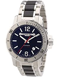 amazon co uk mid season up to 75% off watches raymond weil nabucco men s watch carbon fibre stainless steel strap 3900