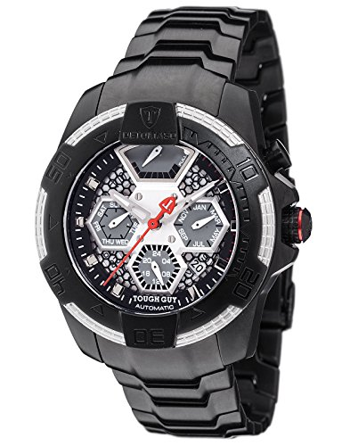 DeTomaso Men's Automatic Watch Analogue Display and Stainless Steel Strap DT-ML103-D