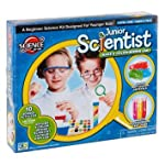 Junior Science Kit Childrens Roleplay Fun Kits Bugs, Crystals, Weather Station (Junior Scientist)