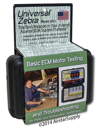Zebra Instruments , # UZ-1 / UZ1 Universal Zebra - Basic ECM Motor Testing and Troubleshooting by Zebra Instruments Ecm-motor