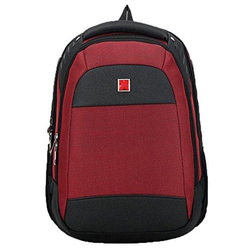 Business Waterproof Laptop Taschen Student Taschen,Red Red