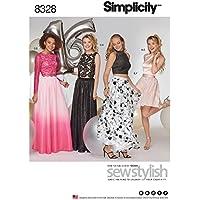 Simplicity Pattern 12 – 14 – 16 – 18 – 20 para ...