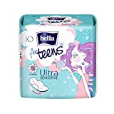 bella for Teens Binden Ultra Sensitive, 6er Pack (6 x 10 Stück)/ Binden für Teenager