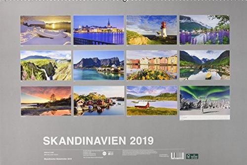 Skandinavien Globetrotter - Kalender 2019: Alle Infos bei Amazon