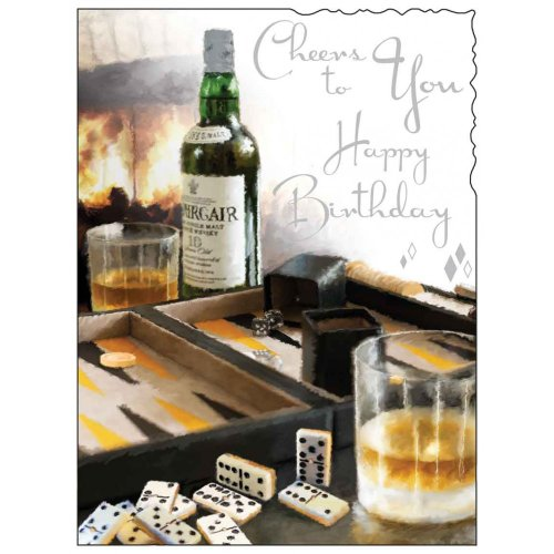male-birthday-card-jj8948-cheers-to-you-silver-embossed