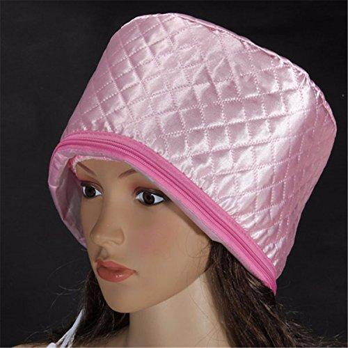 Haarpflege Hut, Luckyfine Tragbar Wasserdicht Dampfer Haar Bläser Thermal-Haar-Dampfer Behandlung SPA Cap Schönheit Dampfer Nährende Hut Thermo-kappe