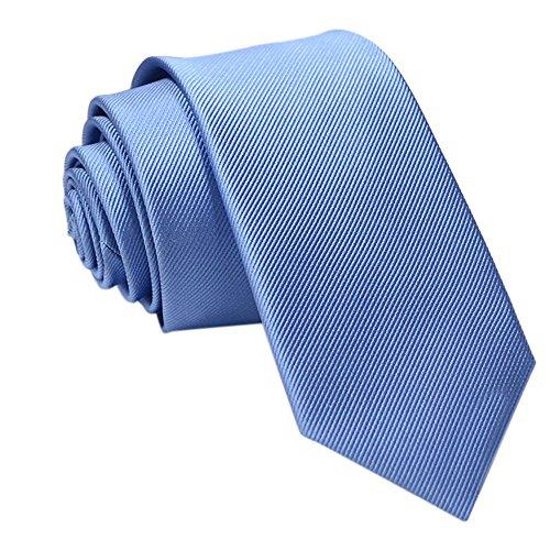 Syeytx beiläufige dünne Normallack Normallack Mens Feste dünne Ansatz-Partei-Hochzeits-Bindungs-Krawatte