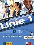 Linie 1 A1: Deutsch in Alltag und Beruf. Kurs- und Übungsbuch mit DVD-ROM
