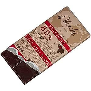 Venchi Origins Chocolate Bar Venezuela 85% 70 g: Amazon co