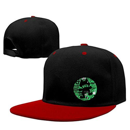 zoeystyle-gorra-de-beisbol-para-hombre-negro-rosso-talla-unica