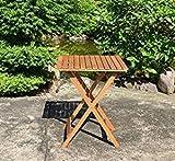 Diego Klapptisch 58/58 cm Gartentisch / Tisch / Hoztisch Eukalyptus FSC
