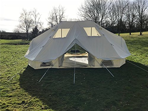 Canvastentshop Meadow tent Bell tent glamping 6 x 4M 3