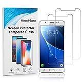 Weinstock-Science | 2X bruchsicheres Schutzglas für Samsung Galaxy J7 2017 / J7 Duos | Schutzfolie aus 9H Echt Glas