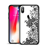 ESR Coque pour iPhone XS/X Mandala, iPhone 10 Coque Silicone Transparente Motif...