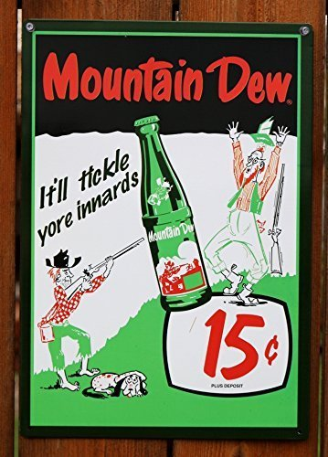 mountain-dew-soda-15-cents-retro-vintage-tin-sign-by-mountain-dew
