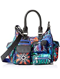 Desigual Indian Galactic London Mini azul lovely - Handtasche