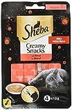 Sheba Creamy Snacks cremiger Katzensnack mit Rind (4 x 12g)