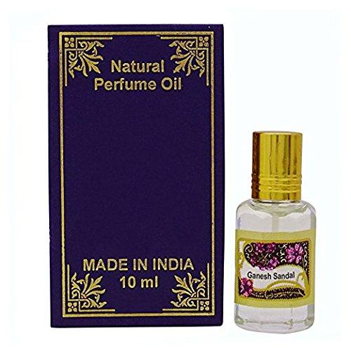 Sandale Essenz (Ganesh Sandel Duftöl 100% reine natürliche Parfümöle)