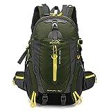 Wandern Rucksack Reiten Bergsteigen Tasche Rucksack Taktische Wasserdichte Outdoor Laptop Rucksack Männer Frauen Sporttasche 40L,F