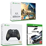 "Xbox One S 500GB Konsole - Assassin's Creed Origins Bundle + Xbox Wireless Controller SE ""Recon Tech"" + Forza Motorsport 7 - Standard Edition"