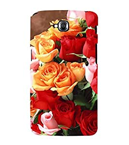 Fiobs Designer Back Case Cover for LG G Pro Lite :: LG Pro Lite D680 D682TR :: LG G Pro Lite Dual :: LG Pro Lite Dual D686 (Rose Flowers Floral Ful Red Gulaab Aroma Smell)