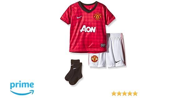 super popular 31647 31615 NIKE Baby Trikot Manchester United Infants Kit Amazon.de Sport  Freizeit