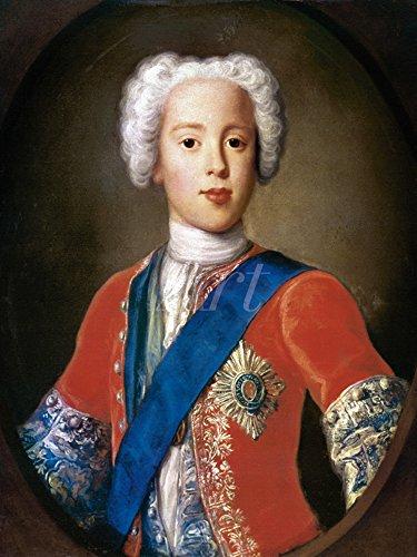 Artland Alte Meister selbstklebendes Premium Wandbild Antonio David Bilder 80 x 60 cm Prinz Charles...